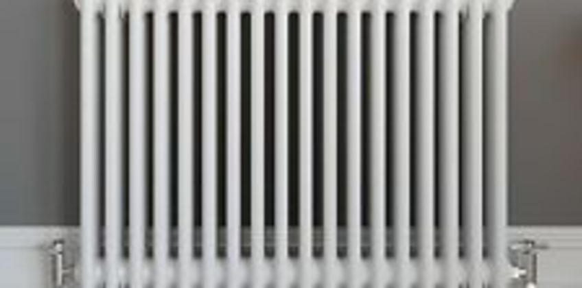 Traditional Classic Colosseum Horizontal Triple Bar Radiator 600 x 828mm White from ebay