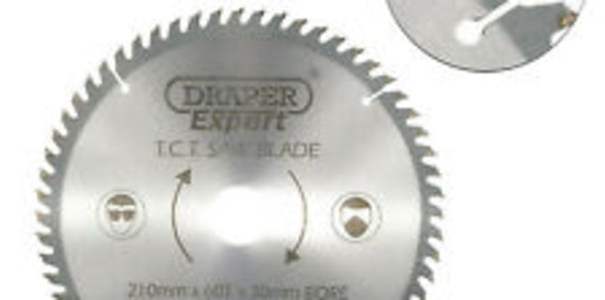 Draper Expert Circular Saw Blade 210mm 30mm Bore 60T 16mm Ring Chop Mitre 09478 from ebay