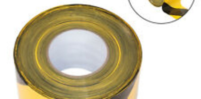 Sealey Safety Hazard Warning Barrier Tape Non Adhesive 80mm x 100m BTBY from ebay