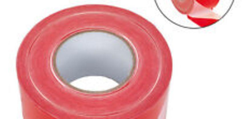 Sealey Safety Hazard Warning Barrier Tape Non Adhesive 80mm x 100m BTRW from ebay