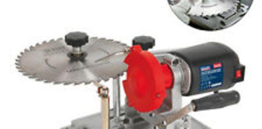 Sealey SMS2003 Table Mount 90mm-400mm TCT Saw Blade Sharpener / Grinder 240v from ebay