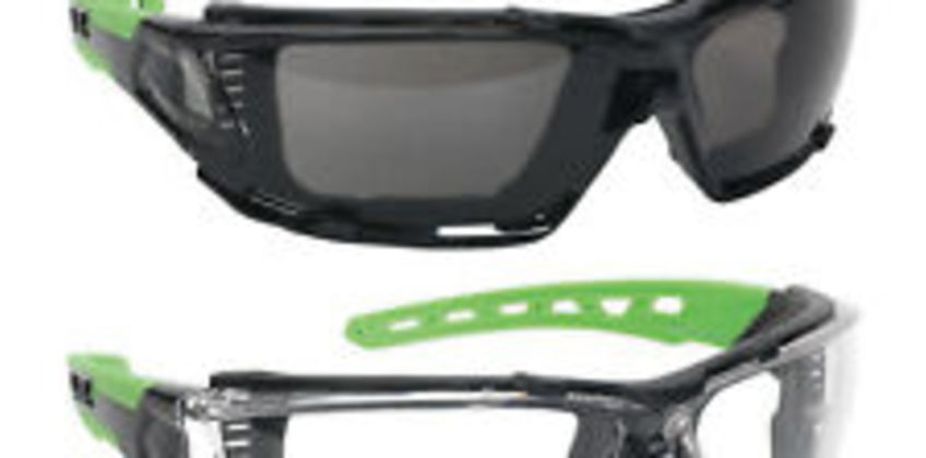 2x Sealey Polycarbonate Safety Glasses Goggles EVA Foam Lining - Clear + Tinted from ebay