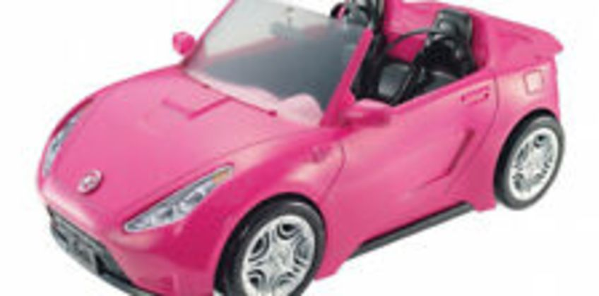 Barbie Autre Glam Convertible Sports Toy Vehicle for Doll, Pink Car from ebay