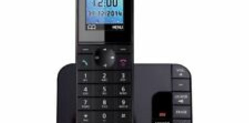 PANASONIC KX-TG8181EB Cordless Phone with Answering Machine - Currys from ebay