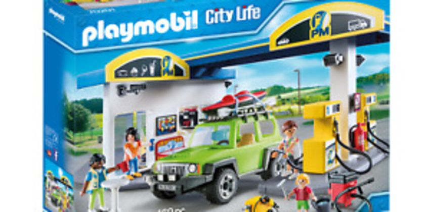 Playmobil 70201 City Life Vehicle World Petrol Station with Car and Shop from ebay
