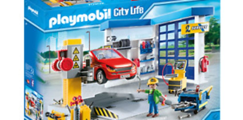Playmobil 70202 City Life Vehicle World Garage and Workshop with Car from ebay