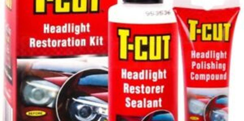 T-Cut Headlight Restoration Kit Polishing Compound And Restorer Sealant Headlamp from ebay