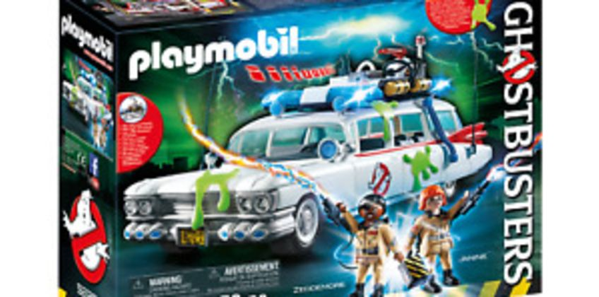Playmobil 9220 Ghostbusters (TM) Ecto 1 with Lights and Sound  3+ from ebay