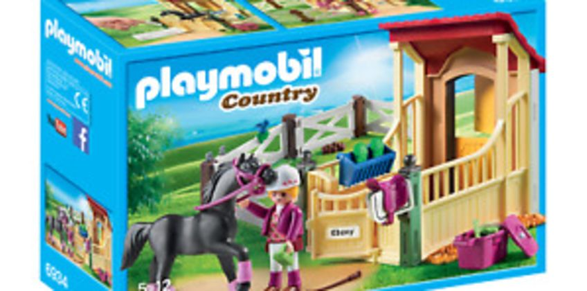 Playmobil 6934 Country Horse Stable with Araber  for 3-4 Years, 5-7 Years from ebay