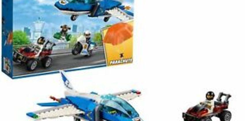 Lego City 60208 Sky Police Parachute Arrest from ebay