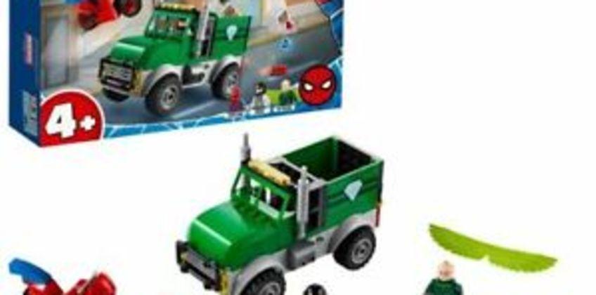 LEGO76147 SuperHeroesMarvelSpider-ManVulture'sTruckerRobberyPlayset from ebay