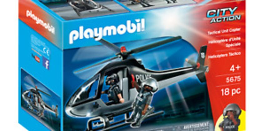 Playmobil 5675 Tactical Police Helicopter (Boats & Aeroplanes) for Age 3+ from ebay