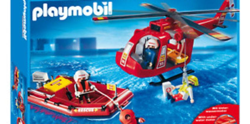 Playmobil 4428 Fire Rescue Set (Playsets, Boats & Aeroplanes) for Age 3+ from ebay