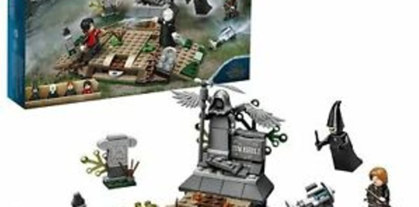 Lego 75965 Harry Potter The Rise of Voldemor from ebay