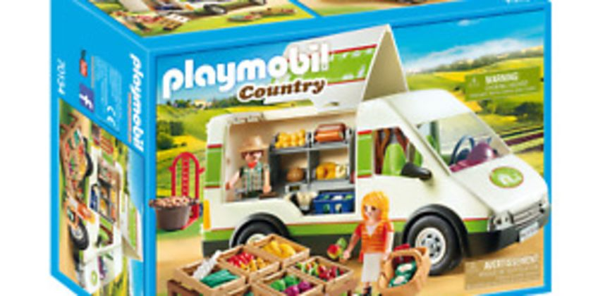 Playmobil 70134 Country Mobile Farmer's Market Van from ebay