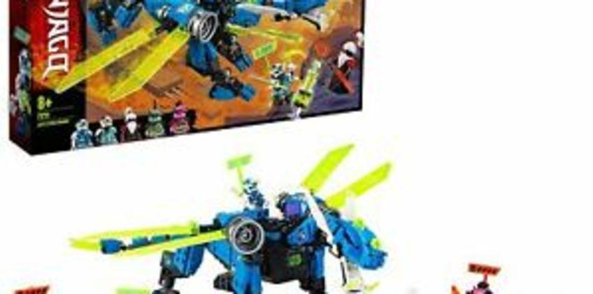 LEGO71711Ninjago Jay'sCyberDragon Set,withJay,NyaandUnagamiMinifigs from ebay