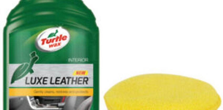Turtle Wax Luxe Leather Cleaner Conditioner Restores Car Seats + Cloth & Pad from ebay