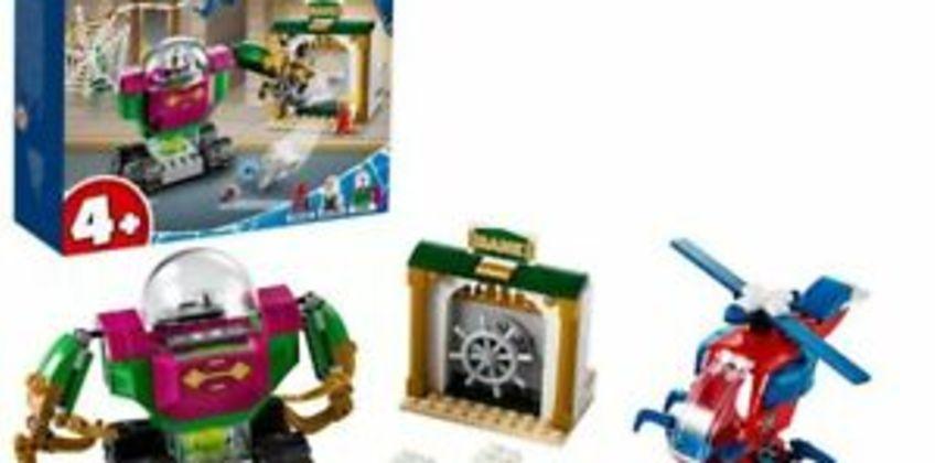 LEGO76149SuperHeroesMarvelSpider-ManTheMenaceofMysterioHelicopter from ebay