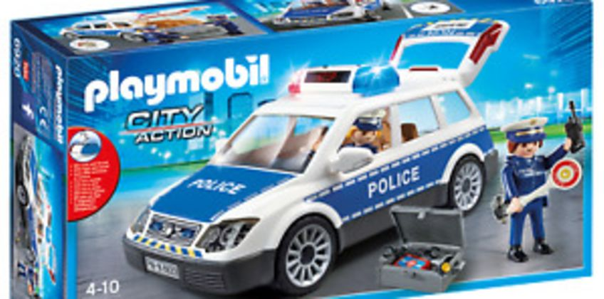 Playmobil 6920 City Action Police Squad Car with Lights and Sound  for Age 3+ from ebay