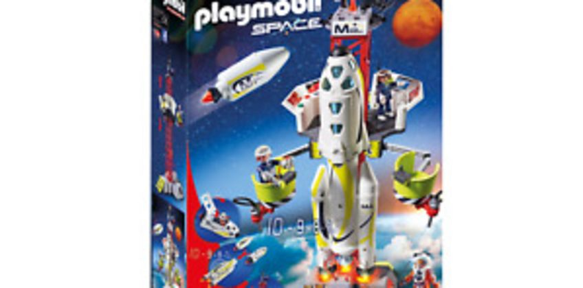 Playmobil 9488 Space Mission Rocket with Launch Site with Lights and Sound from ebay