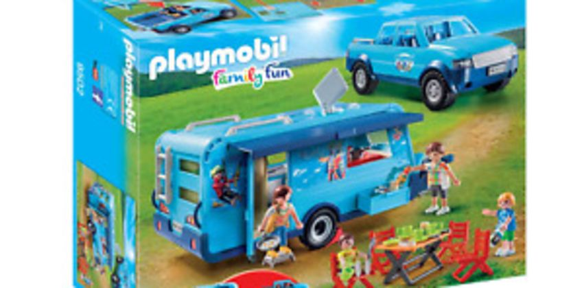 Playmobil 9502 FunPark Pickup with Camper from ebay