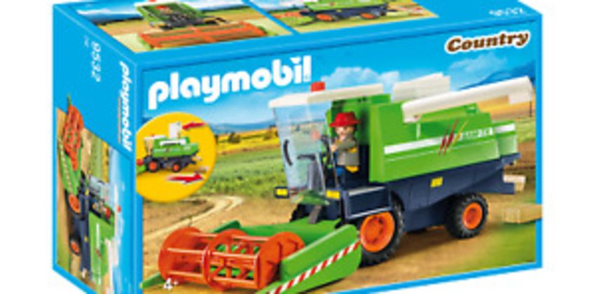 Playmobil 9532 Country Combine Harvester (Farms & Animals) Age 3+ from ebay