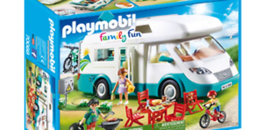 Playmobil 70088 Family Fun Camper Van with Furniture from ebay