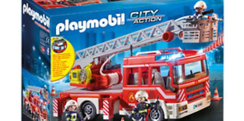 Playmobil 9463 City Action Fire Ladder Unit with Extendable Ladder from ebay
