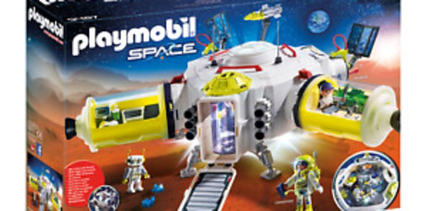 Playmobil 9487 Space Mars Space Station with Functioning Double Laser Shooter from ebay