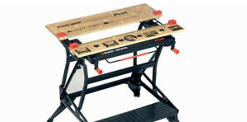 Black and Decker WM825 Dual Height Deluxe Workmate Vice Grip Garage Workshop from ebay
