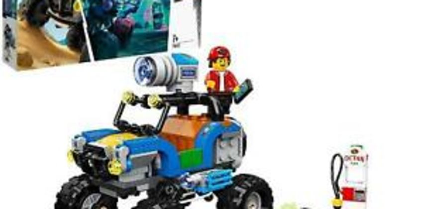 Lego HiddenSide70428Jack'sBeachBuggywithARGamesApp from ebay