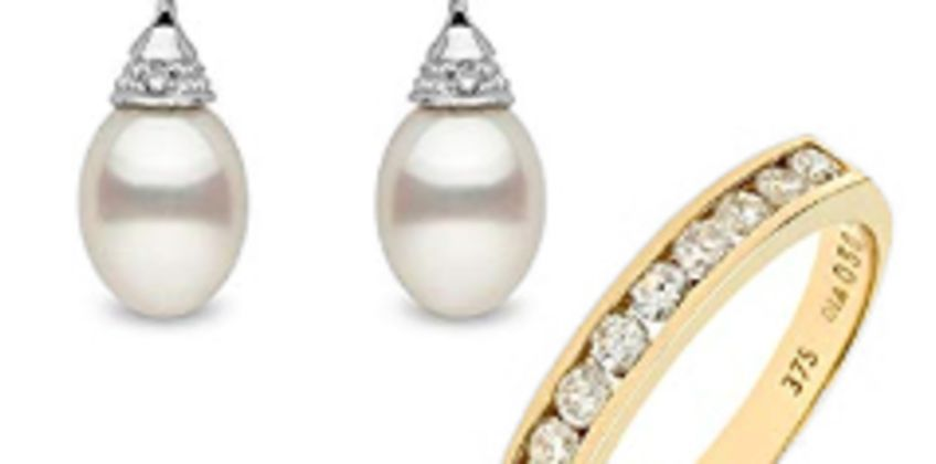 Up to 30% off Pearl and Diamond Jewellery from Amazon