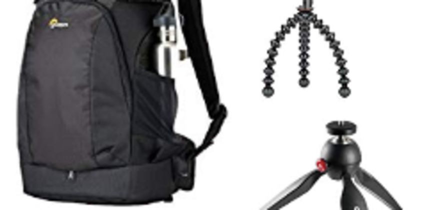 Up to 40% off Manfrotto, Joby and Lowepro Acessories  from Amazon
