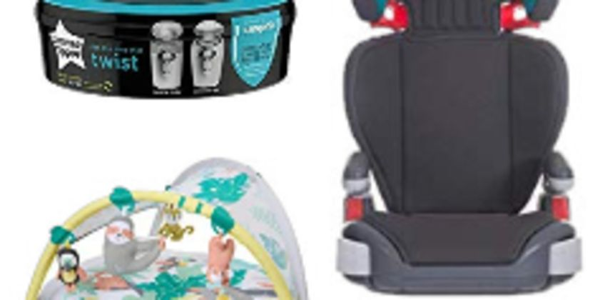 Up to 50% off Must Have Baby Products from Tommee Tippee, Graco and Skip Hop from Amazon