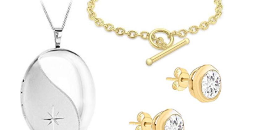25% off Carissima Gold and Tuscany Silver Jewellery from Amazon