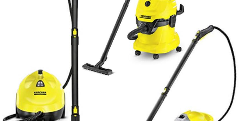 Up to 30% off Karcher hard floor and steam cleaners from Amazon