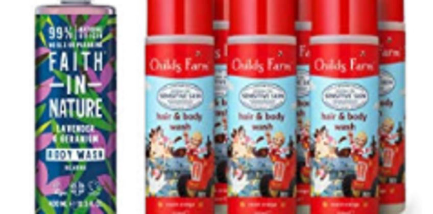 Up to 43% off selected Faith in Nature and Childs Farm from Amazon