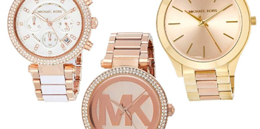 Up to 40% off Michael Kors watches from Amazon