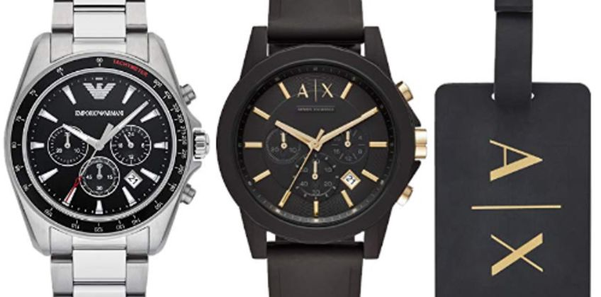 Up to 40% off Emporio Armani Watches from Amazon