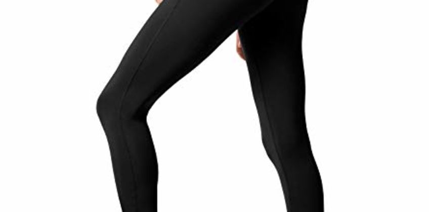 LAPASA Women's Yoga Pants with Pockets Workout Running Leggings High Waisted Tummy Control Gym Leggings L01, L32, L36 from Amazon