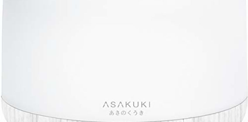 ASAKUKI 500ml Premium Essential Oil Diffuser, 5 In 1 Ultrasonic Aromatherapy Fragrant Oil Vaporizer Humidifier, Purifies The Air, Timer and Auto-Off Safety Switch, 7 LED Light Colors from Amazon