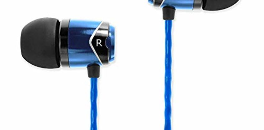 SoundMAGIC E10 High Fidelity In-Ear Headphones with Sound Insulation from Amazon