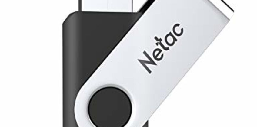 Netac USB Flash Drive, High Speed Swivel Design Memory Stick,Up to 90/30 MB/s(R/W) Pen Drive, Thumb Drive for Data Storage, Zip Drive and jump Drive with LED Light from Amazon
