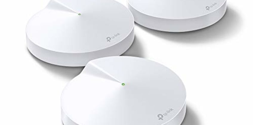 Save on TP-LINK Deco M9 Plus Whole Home Mesh Wi-Fi with Built-In Smart Home HUB, Up To 6500 Sq ft coverage, Works with Amazon Echo/Alexa and IFTTT, Wi-Fi Booster, Antivirus and Parental Controls, Pack of 3 and more from Amazon