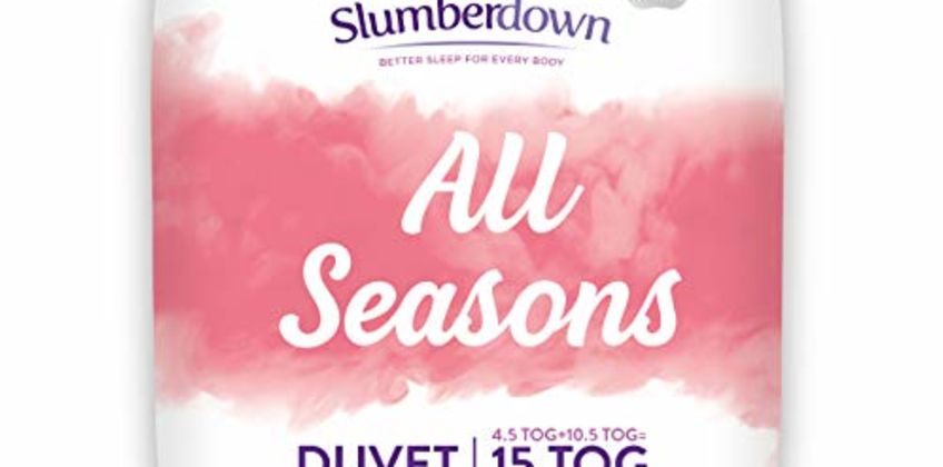 20% off Slumberdown Pillows and Duvets from Amazon