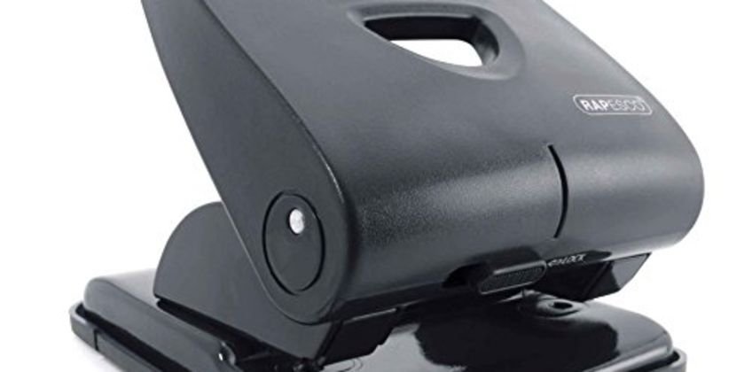 Save on Rapesco PF835PB2 Hole Punch - 835-P, 40-sheet capacity. Black and more from Amazon