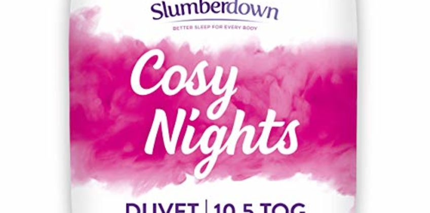 Save on Slumberdown Cosy Nights Duvet, King Size, 10.5 Tog All Year Round and more from Amazon