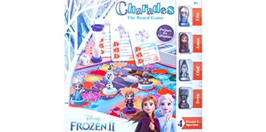 Save on Disney Board Game Frozen 2 Charades Kids Age 4 Years Old and more from Amazon