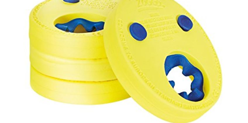 Save on Zoggs Kids Lightweight and Comfortable Foam Float Discs Arm Bands for Swimming - 2-6 Years and more from Amazon