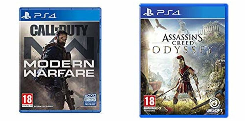 Bundle Deals on PS4 and Xbox Games from Amazon